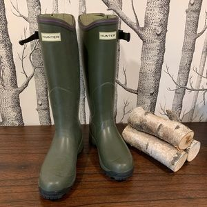 Hunter | Balmoral Lady Neoprene Wellington Boots 6
